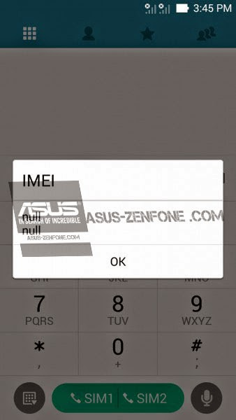 Asus Zenfone 4 IMEI Recovery (Null IMEI) ~ Asus Zenfone Blog
