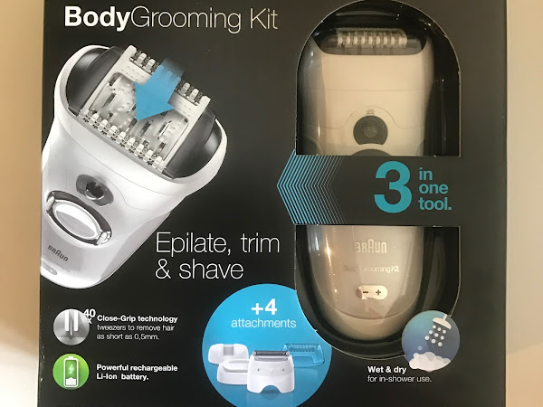 Giveaway: Braun Body Grooming Kit