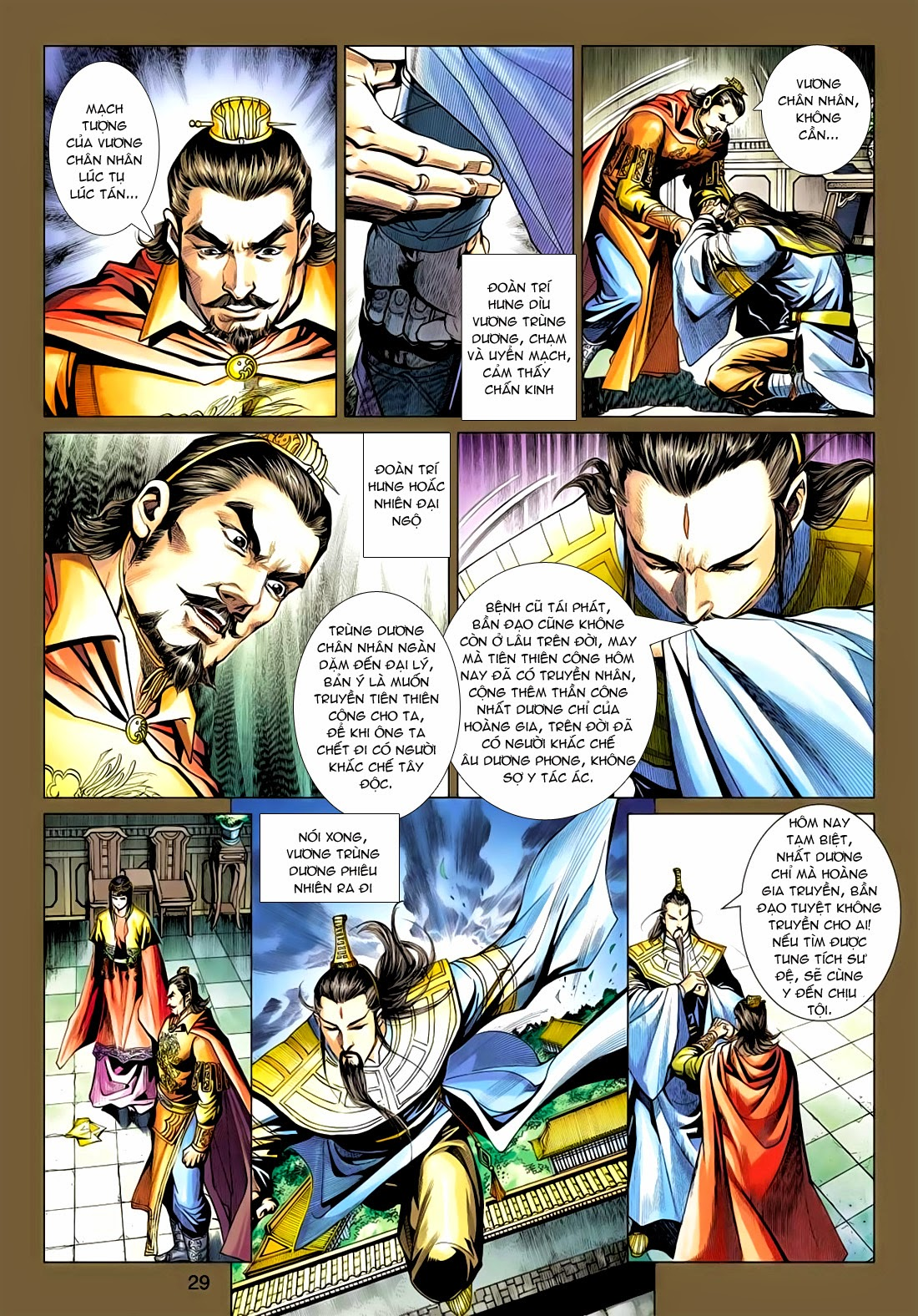 Anh Hùng Xạ Điêu anh hùng xạ đêu chap 77: thế thượng tối cường võ công trang 29