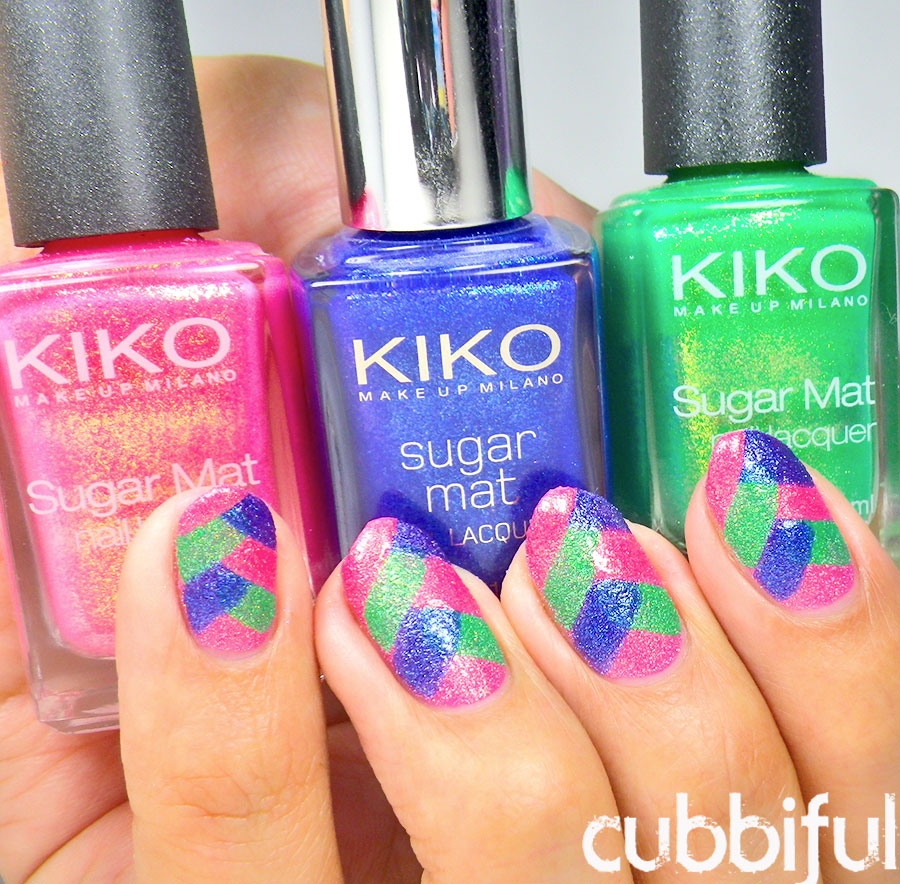 kiko sugar mat polishes