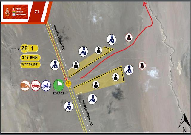Zona de espactadores Dakar Arequipa