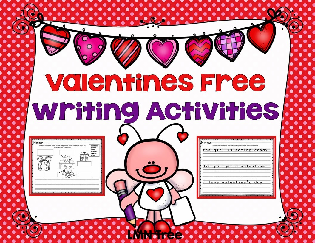 Valentines Day Writing Activities For First Grade