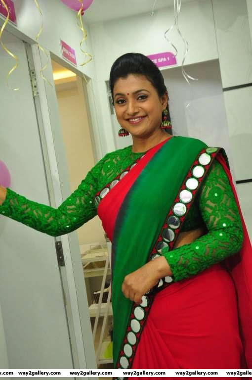 South Indian actress Roja inaugurated a Green Trends salon