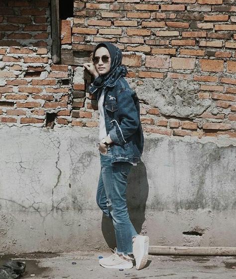 model celana hijab modis