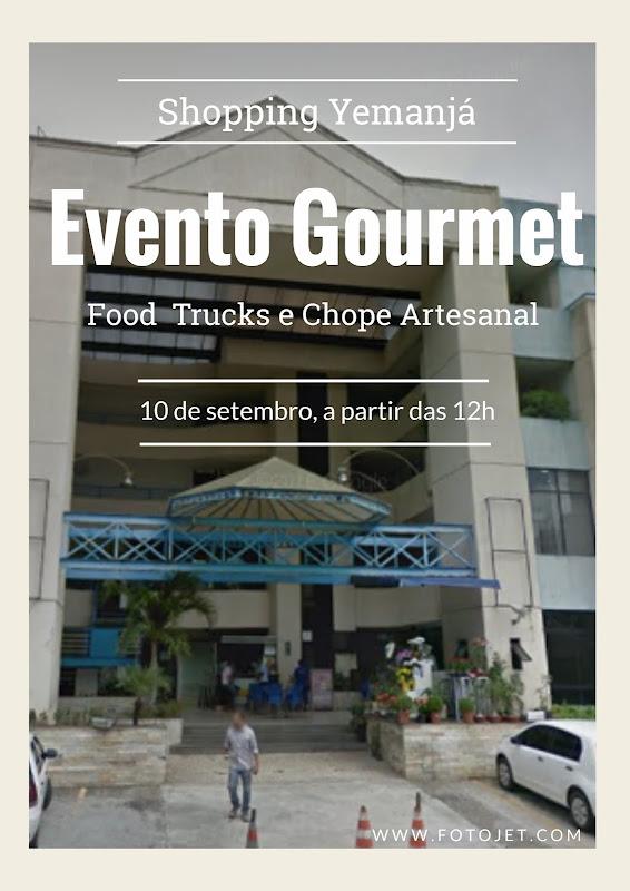 Dia 10 tem evento gourmet no Shopping Yemanjá