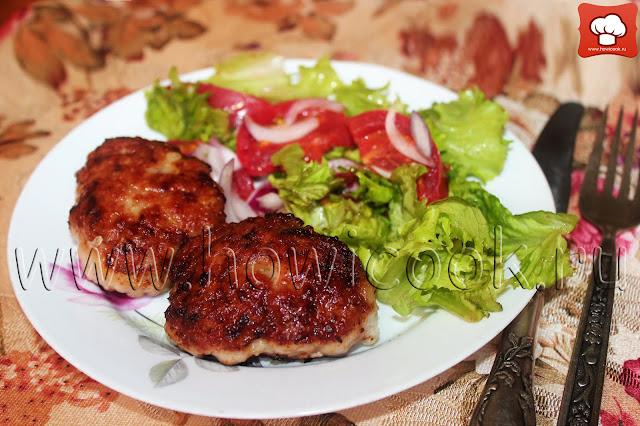 рецепт котлет из индейки и свинины
