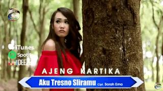 Lirik Lagu Aku Tresno Sliramu - Ajeng Kartika
