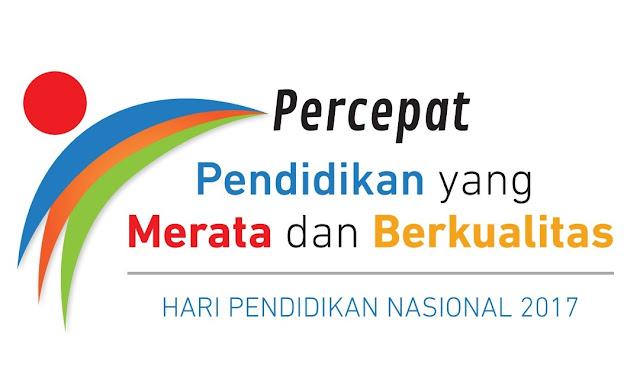 Logo Peringatan Hari Pendidikan Nasional Tahun 2017