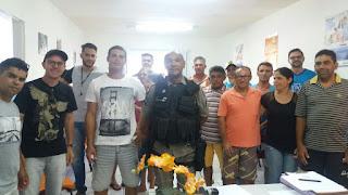 Destacamento Policial de São Vicente do Seridó reforça segurança para o 'Seridó Brega'