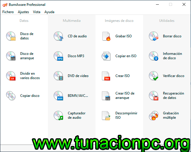 BurnAware Professional Full Español