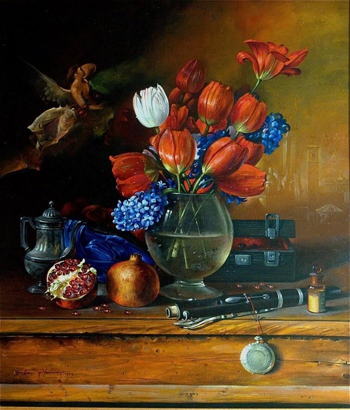 Сербский художник-реалист. Dusan Jovanovic
