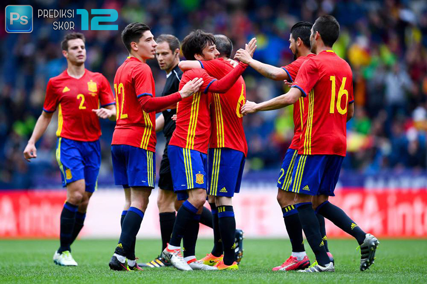 Prediksi Spanyol vs Liechtenstein 6 September 2016