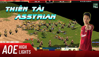 AoE Highlight | Chim Sẻ Đi Nắng cầm Assyrian là 1 thứ gì đó quá khủng khiếp