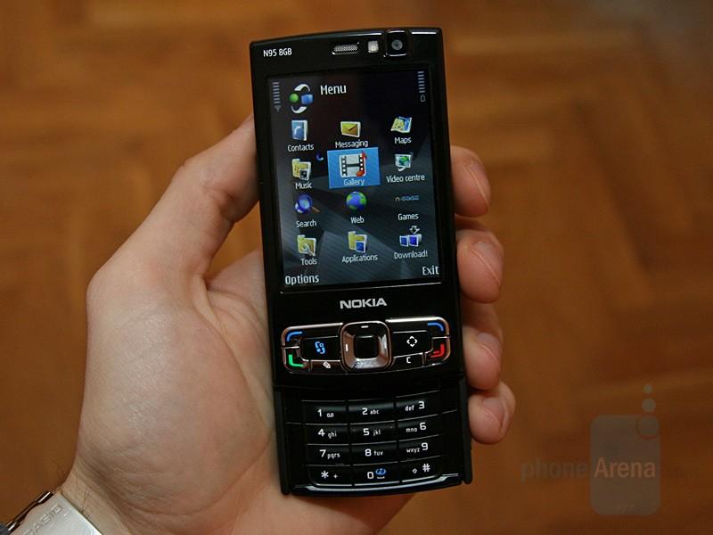 nokia+n95+eski+cep+telefonu+resimleri