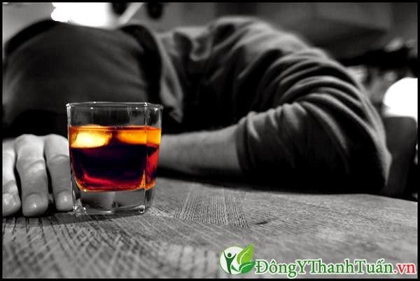 Đau dạ dày tá tràng không nên uống bia rượu