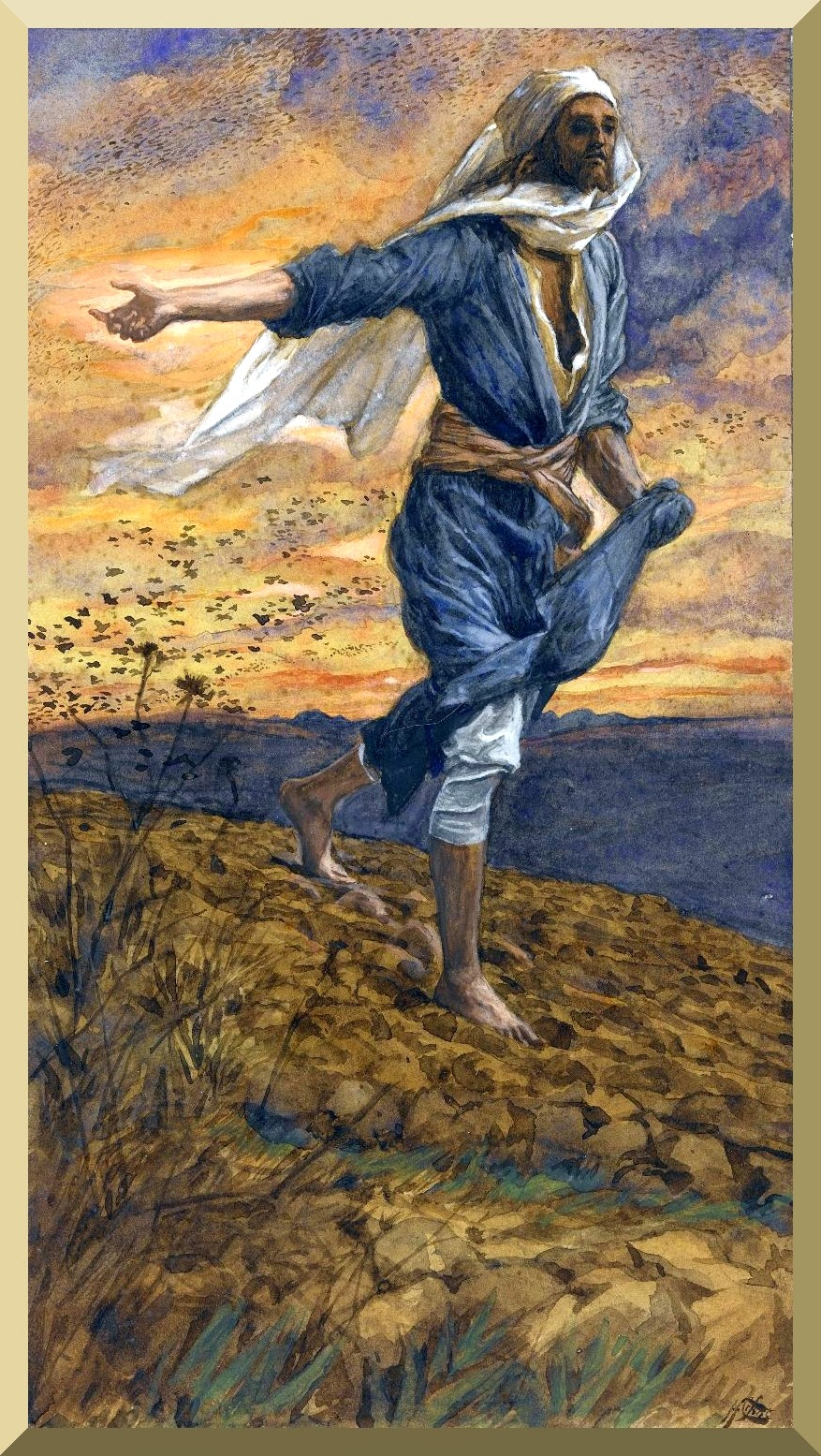 """The Sower"" -- by James Tissot"