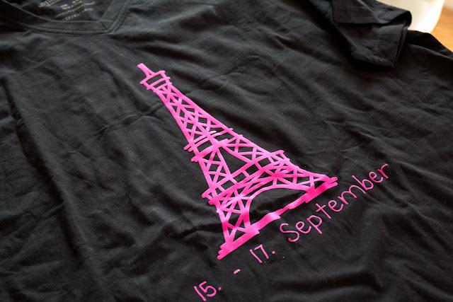 Bügelmotiv Eiffelturm