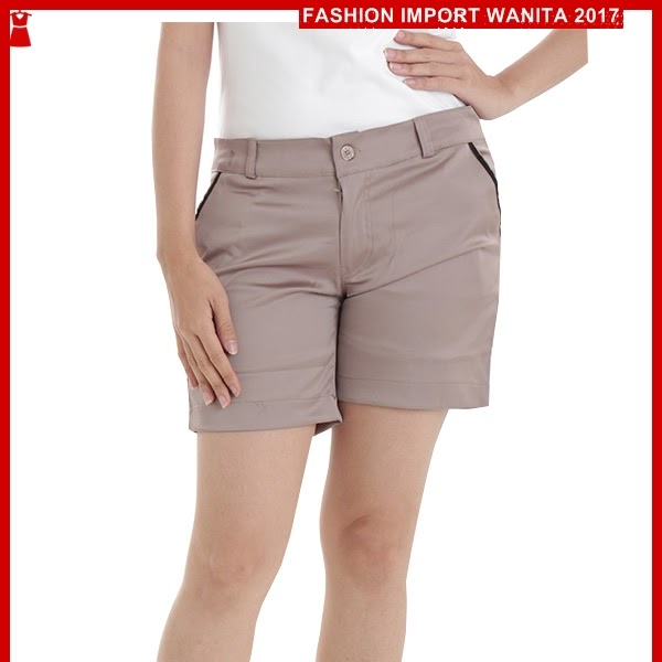 ADR087 Celana Wanita Beige Pendek Hotpants Import BMG