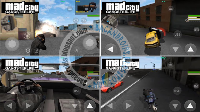 Game Mad City: Gangster Life Apk Terbaru For Android