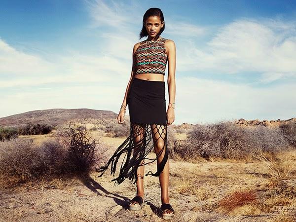 H&M Loves Coachella ropa mujer joven festival