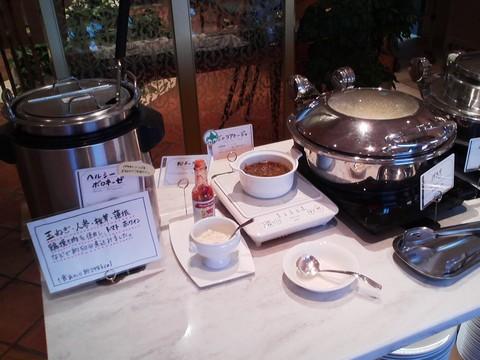 ビュッフェコーナー:パスタソース オーセントホテル小樽カサブランカ