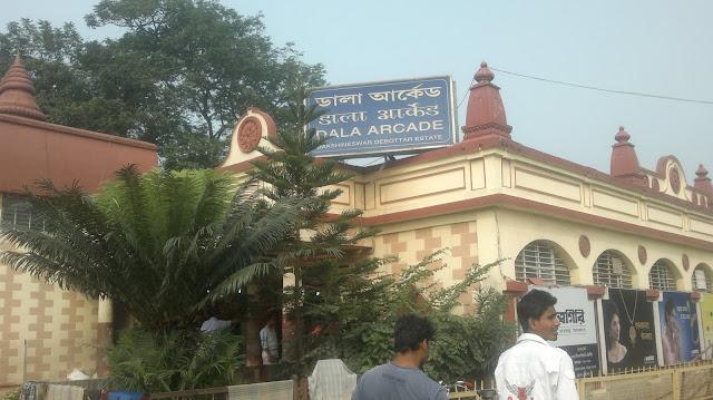 Dala Arcade inside famous Dakshineswar Kali Temple Kolkata