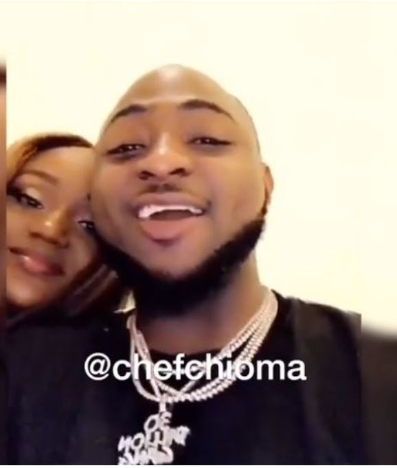 davido-and-chioma-celebrates-after-winning-at-the-headies