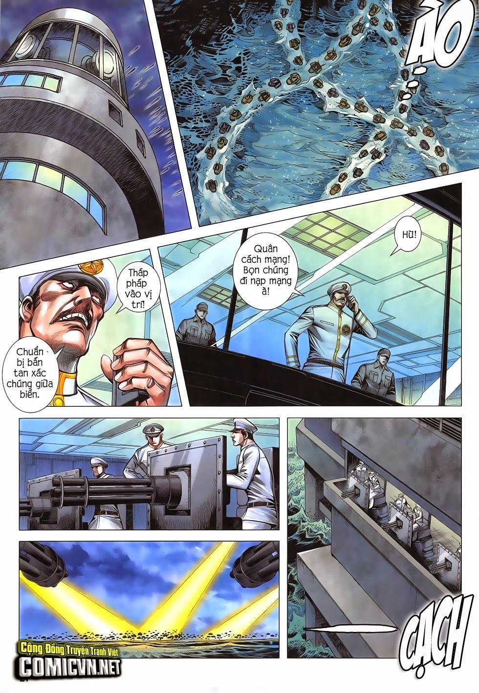 Đại Quân Phiệt chap 47: lời hứa trước khi thế giới chung kết trang 26