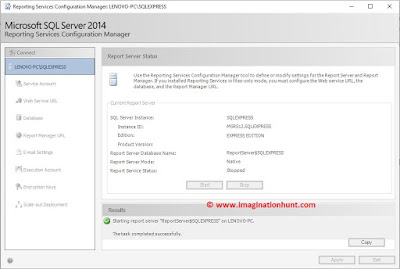 How to: Start Reporting Services Configuration Manager