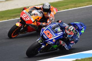 Vinales Sebut Marquez Sengaja Menyenggolnya di Sesi Kualifikasi MotoGP Jerman