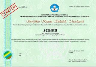 Juknis Mendapatkan Sertifikat dan Nomor Unit Kepala Sekolah/ Madrasah
