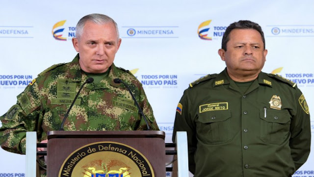 """Comandante militar de Colombia niega que exista plan para """"invadir"""" a Venezuela"""