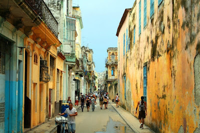 Куба. Cuba, город, улица, кубинцы, дома