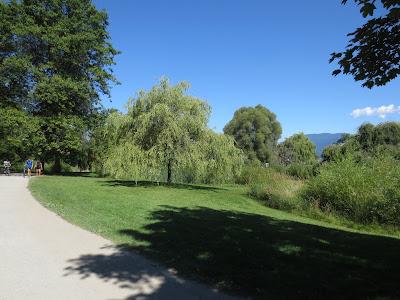 Jericho Pond walkway Vancouver, BC