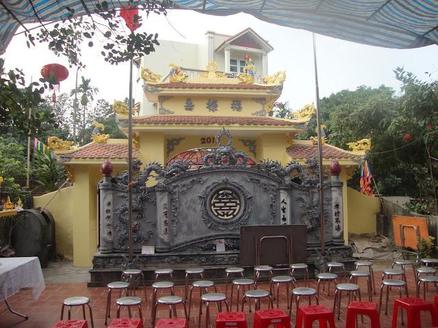 Các hình ảnh về lễ trao bằng mừng thọ và khuyến học khuyến tài của Chi họ Dương Hữu Xã Quảng Châu