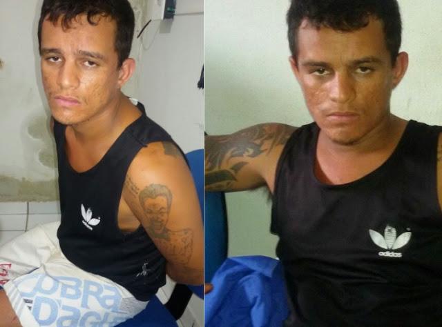 Caxias: Dupla suspeita de assaltos é presa com moto roubada