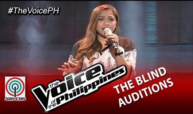 Carol Leus Sings 'Tattooed Heart' on The Voice of the Philippines Season 2 Blind Audition Video Replay