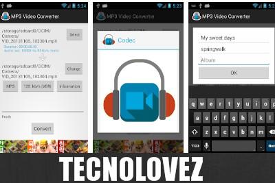 MP3 Video Converter  - Applicazione per convertire o tagliare video in pochi secondi e facilmente