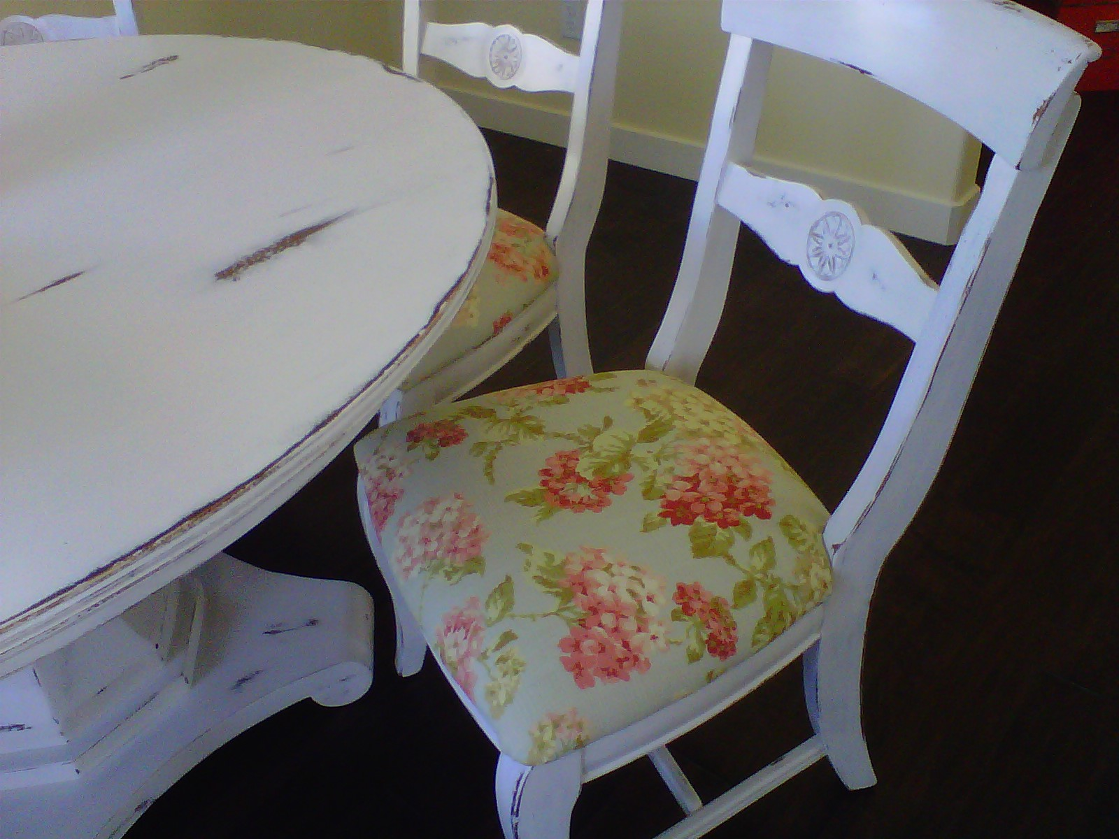 hang around chair cover nursing and stool uk a dining room make over tutorial the style sisters