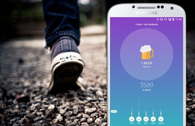 تطبيق Movesum يُخبرك كم عدد الخطوات لحرق ما تأكله