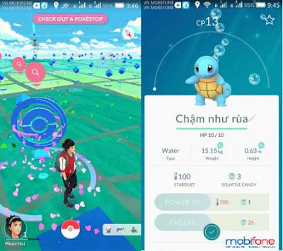 đăng ký 3g Mobifone để chơi Pokemon Go