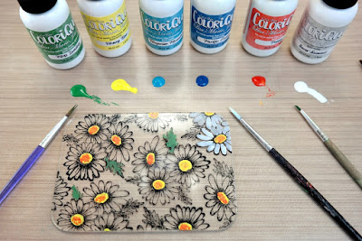 How to Paint Acrylic with ColorBox ColoriQue by Dana Tatar