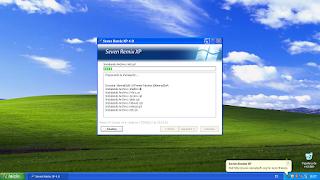 Seven Remix XP - Installing