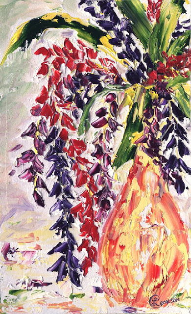 http://paintingsbylyndacookson.blogspot.fr/2016/05/falling-flowers-by-lynda-cookson.html