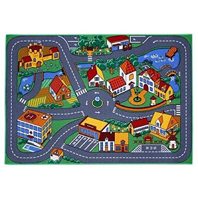 Associated Weavers Spielteppich Stadt 95 x 133 cm