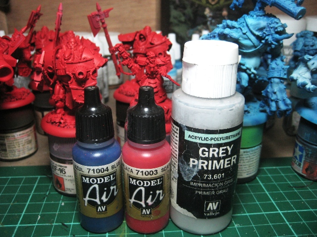 painted my miniatures with my airbrush photo