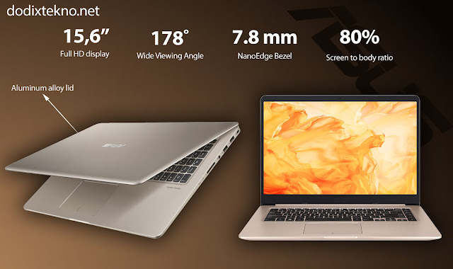 Review Asus VivoBook S15 S510UQ - NanoEdge