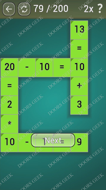 Math Games [Beginner] Level 79 answers, cheats, solution, walkthrough for android