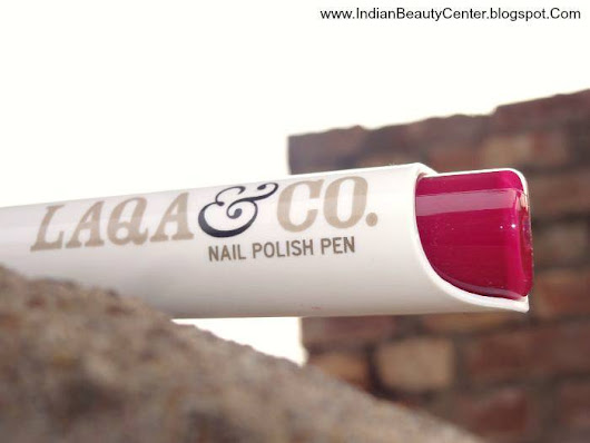 LAQA & Co. Nail Polish Pen Review, Laqa Nail Polish Pen