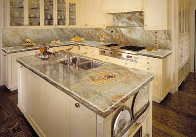 Hướng dẫn cách đá nhân tạo hay đá Granite để ốp mặt bếp?